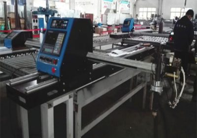 Table cnc plasma cutting machine alang sa copper / metal sheet