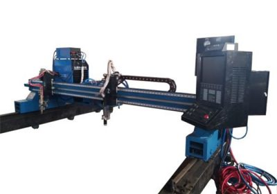 CNC plasma gantry cutting machine