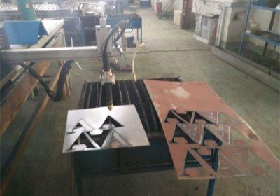 Cnc plasma cutter / square tube round steel pipe cnc plasma cutting machine